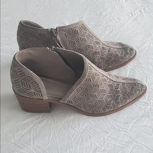 1. state perforated booties